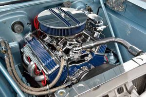 Clean the engine bay before selling your car