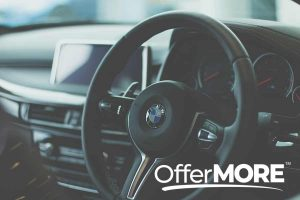 How to get a great deal on your new car - shot of car interior