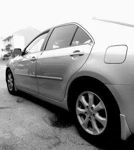 Toyota Camry Side Shot
