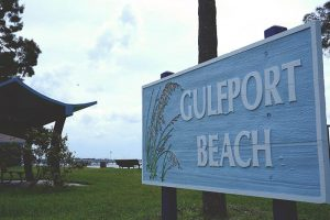 Gulfport Beach located in Pinellas County