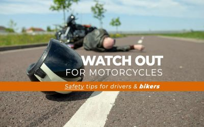 Watch Out for Motorcycles | Tips for Drivers & Riders | OfferMORE's Tips-4-Crashing-Less Series