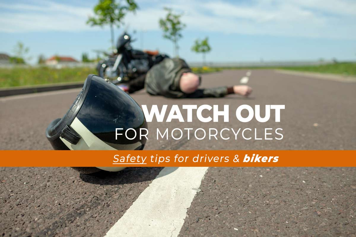 Safety Tips for Drivers snd Motorcyclists