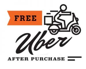 Free Uber Ride after Selling Your Car to OfferMORE