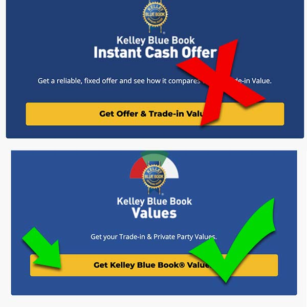 Get Kelly Blue Book Value