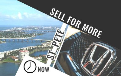 Selling your car in St. Pete?  Now's the time