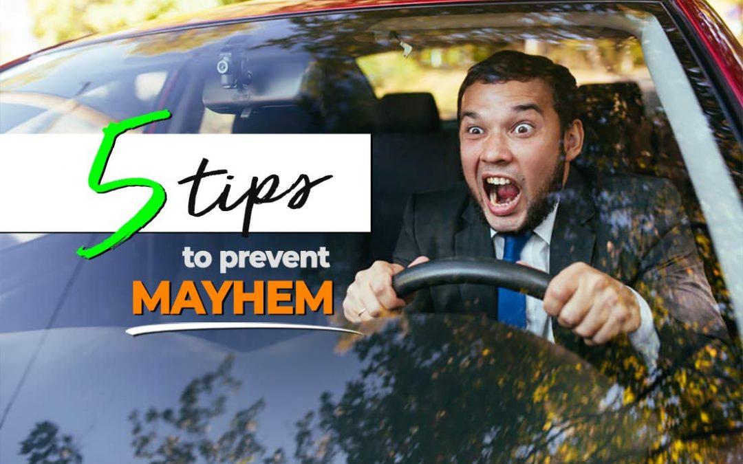 5 Tips to Prevent Road Rage Mayhem