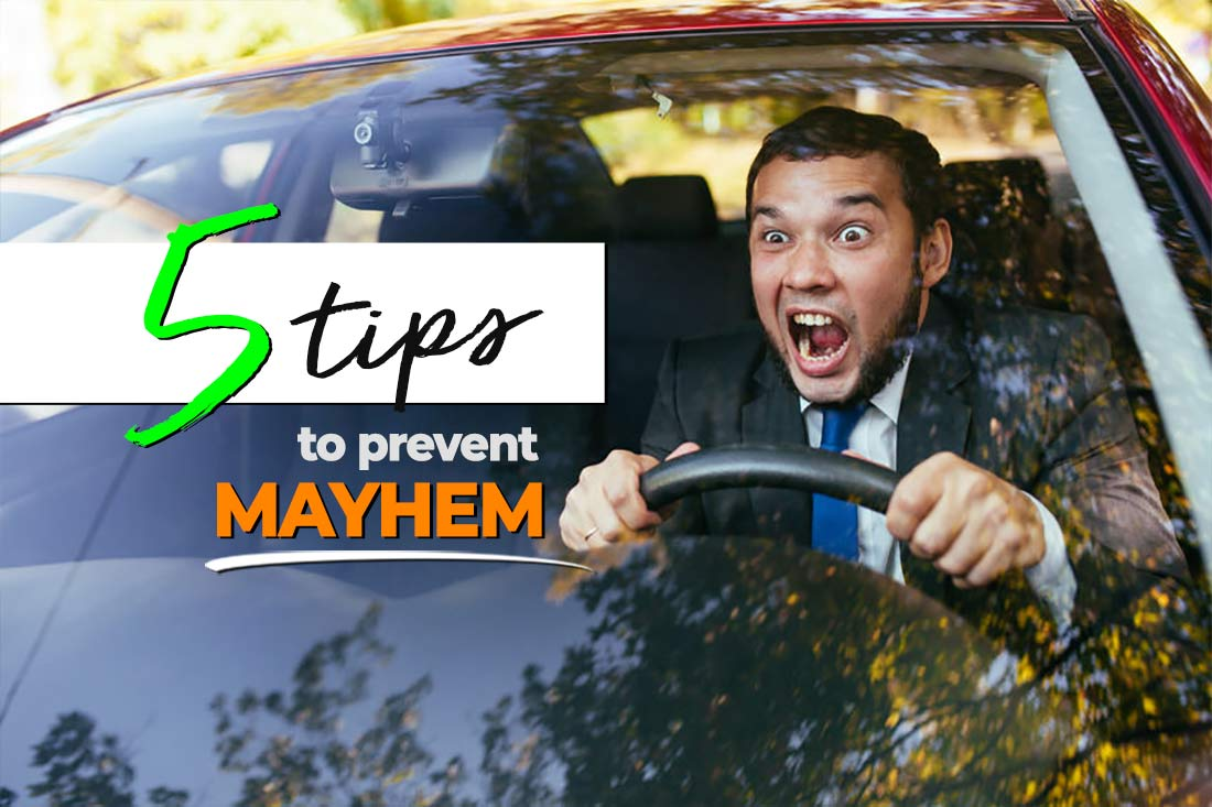 Tips to help prevent road rage