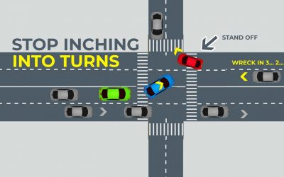 Outsmarting Drivers by Inching Less